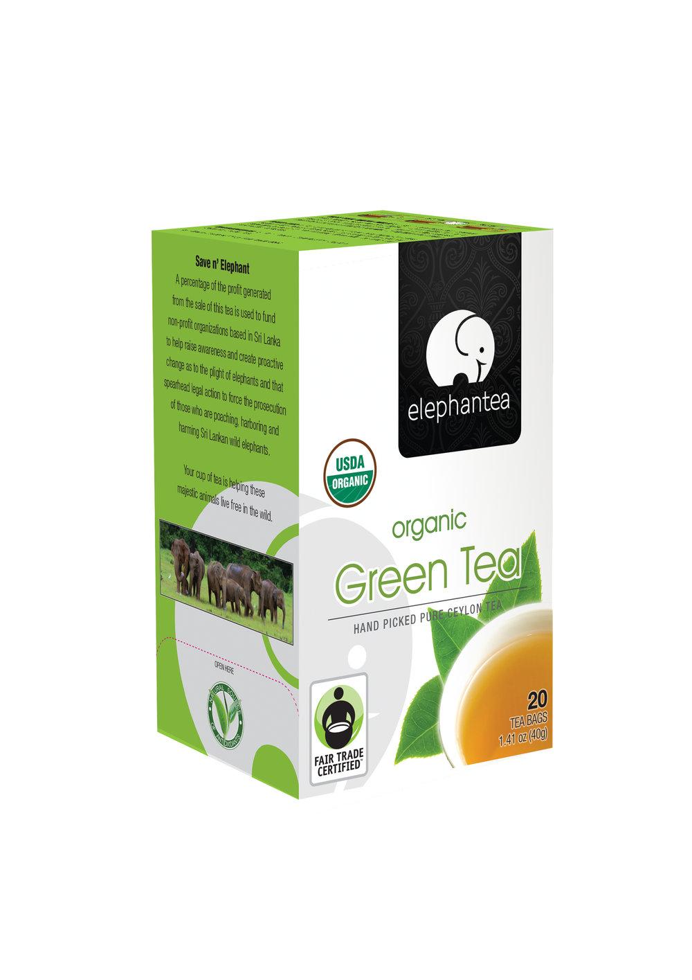 elephantea Organic Green Tea