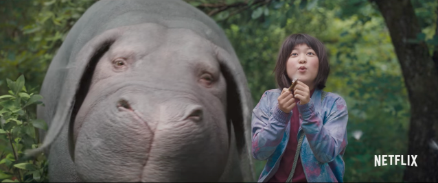 Okja movie screenshot