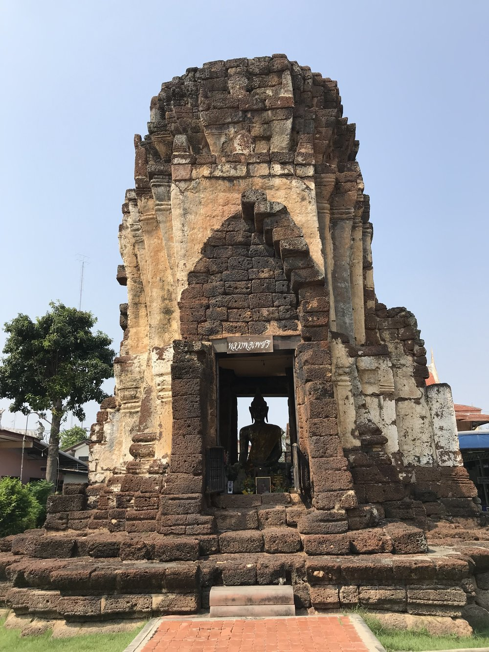 Wat Kampang Lang, the oldest temple remains in Phetchaburi Province