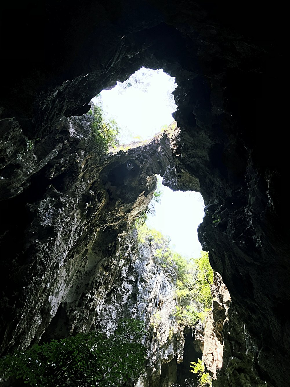 Natural Bridge inside Phraya Nakhon Cave