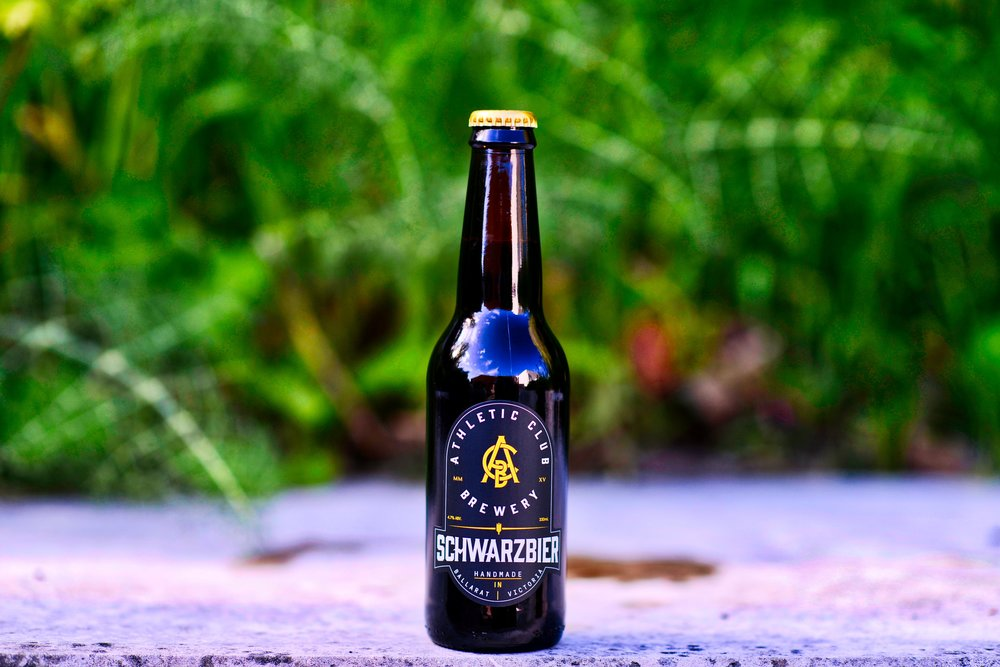 ACB Schwarzbier Athletic Club Brewery Schwarzbier is made using authentic German pilsner, munich and carafa malts to produce a dark & roasty yet very drinkable lager. Combining the smooth light mouthfeel of a lager and the rich character of a complex stout, this schwarzbier is very easy to drink. ABV - 4.7 | IBU - 26 Available On Tap - Not currently Available Packaged - Not currently