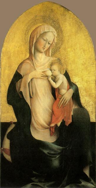 Masolino da Panicale (1383-1447) Madonna dell'umiltàc. 1423