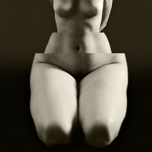 """Luís Barreira Megalomania, """"La folie des grandeurs"""", 1999 série: La Femme - surrèaliste Fotografia Gelatin-Silver Print"""