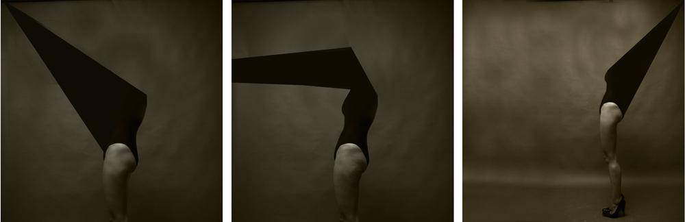 Luís Barreira triangle amoureux (tríptico), 2015 série: La Femme fotografia