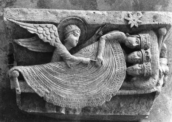 O sonho dos Reis Magos  Catedral de Autun,França