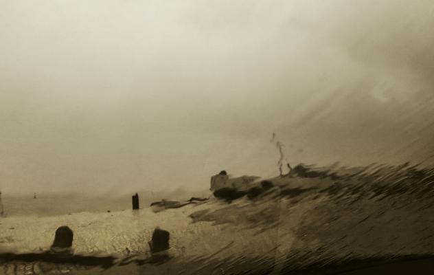 Luís Barreira rainy day, 2016 série: no parque fotografia