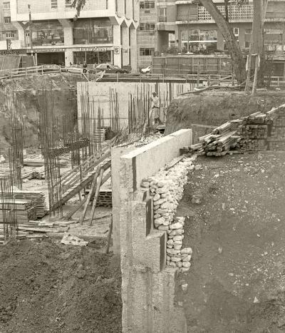 Luís Barreira Centro de Arte Moderna (construção), 1981 Fotografia Gelatin-Silver Print