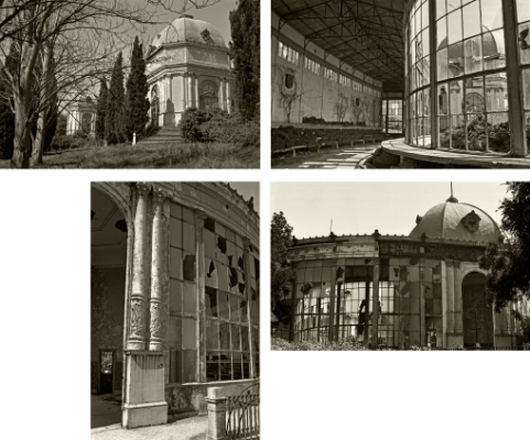 Luís Barreira   Ruínas do Pavilhão de Exposições de 1884, Ajuda, Lisboa, 1983    Fotografia   Gelatin Silver Print