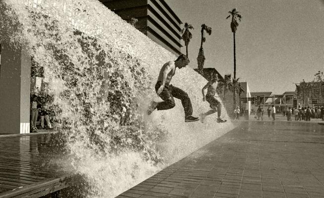 Luís Barreira  Jogos de água - expo'98, Lisboa, 1998  Fotografia  Gelatin Silver print