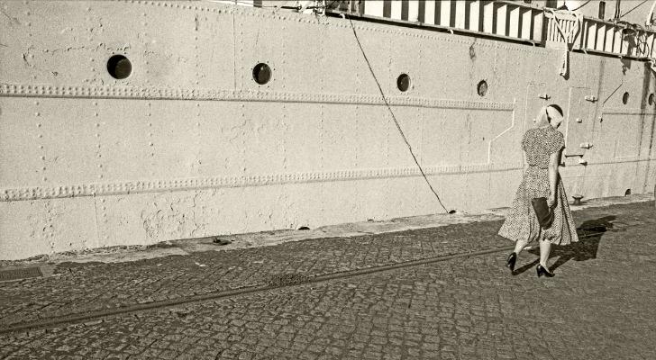 Luís Barreira  no porto, Lisboa, 1988  Fotografia  Gelatin Silver print