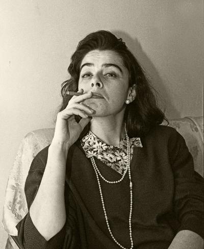 Luís Barreira  Leonor Alcácer, 1989  Fotografia  Gelatin Silver print  Série:   portraits