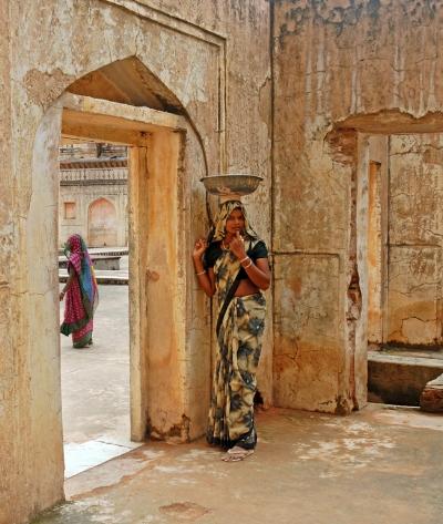 Luís Barreira  Forte de Amber,  Jaipur, Índia, 2008  Fotografia  serie:   street photography    arquivo:08_11_NIK_0329, 2008