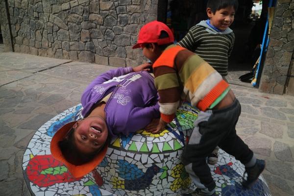 Luís Barreira  niños, Chivay, Perú  2016  Fotografia