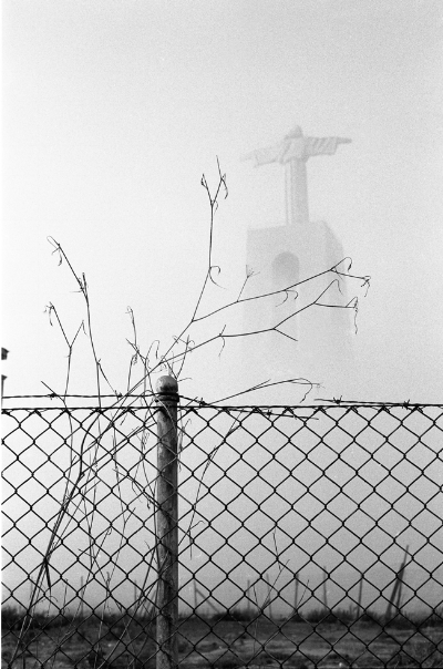 Luís Barreira Cristo Rei - almada - 1991 Fotografia Gelatin Silver print