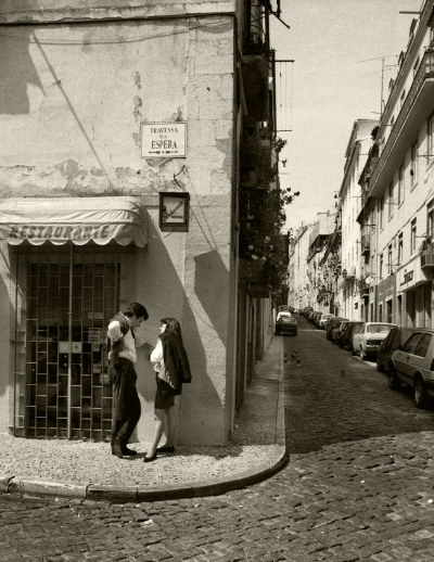 Luís Barreira  Travessa da Espera, Lisboa, 1992  Fotografia  Gelatin Silver print