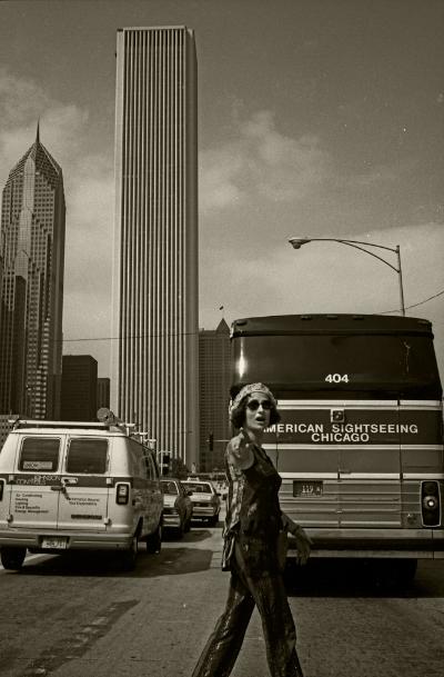 Luís Barreira  Fátima Vaz, Chicago, 1994  Fotografia  Gelatin Silver print