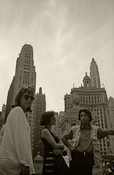 Foto: Artur Amaro Chicago, 1994 Amy Yoes, Fátima Vaz e Luís Barreira Fotografia