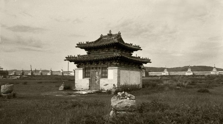 Luís Barreira  karakorum ( capital do Império Mongol no século XIII)   Mongólia, 1996  Fotografia  Gelatin Silver print