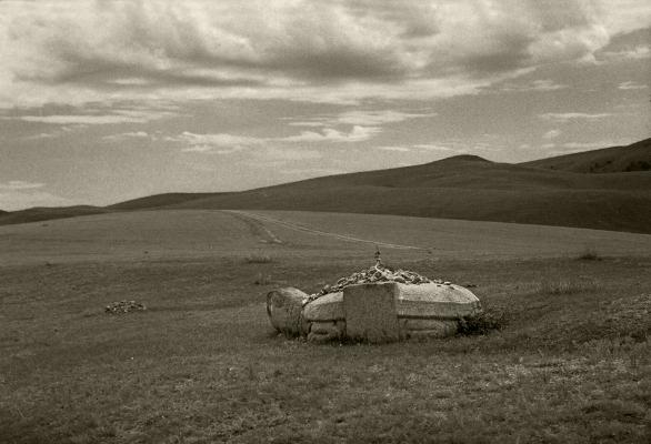 Luís Barreira  Turtle mongol near Karakorum, 1996  Fotografia  Gelatin Silver print  Série:   Landscapes