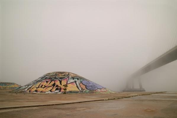 Luís Barreira Ponte Vasco da Gama, 2017 fotografia Série: Ponte Vasco da Gama arquivo:01_5244, 2017