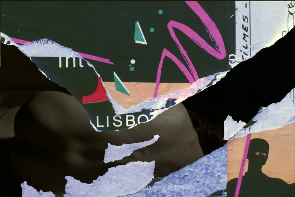 Luís Barreira  entropia #2112  Fotografia/Colagens  série:  entropia   arquivo:SLIDE_2112, 1983