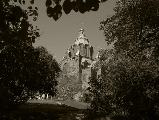 Luís Barreira  Uspenski Cathedral  Helsinquia, 2015  Fotografia  série:   Street Photography    arquivo:08_3910, 2015