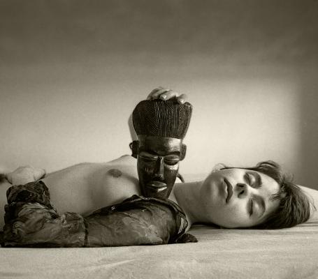 Luís Barreira noire et blanche, 1991 série: La Femme Fotografia Gelatin-Silver Print 30x40 cm arquivo:F_129_902, 1991