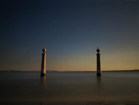 Luís Barreira  Cais das Colunas, Lisboa, 2015  Fotografia  série:   Landscapes    arquivo:02_2642, 2015