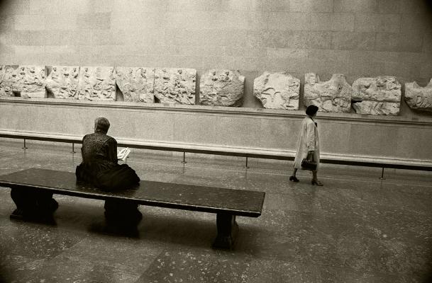 Luís Barreira  British Museum, 1988  London  Fotografia  Gelatin Silver print  arquivo:F_038_5052, 1988