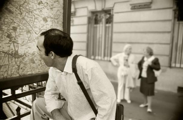 Luís Barreira Zé - Paris, 1989 Fotografia Gelatin Silver print arquivo:F_070_6258, 1989
