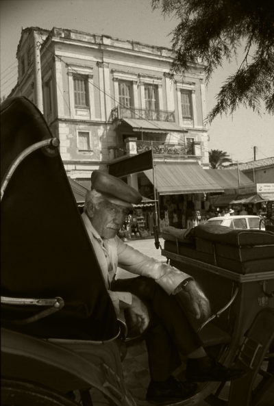 Luís Barreira  Grécia, 1984  Fotografia/Diapositivo  serie:   street photography    arquivo:1984_SLIDE_Grecia_1258