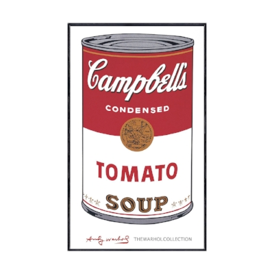 Andy Warhol,Campbell's Soup I,1968.