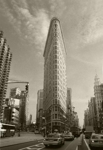 Luís Barreira Flatiron Building (1902 - Daniel Burnham, arq.) New York arquivo:FOLIO_524_20063, 2002