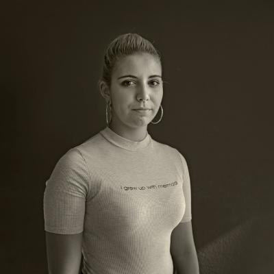 Luís Barreira  Inês Correia, 2017  Série: Portraits  Fotografia  arquivo:09_26_DSCF2499, 2017