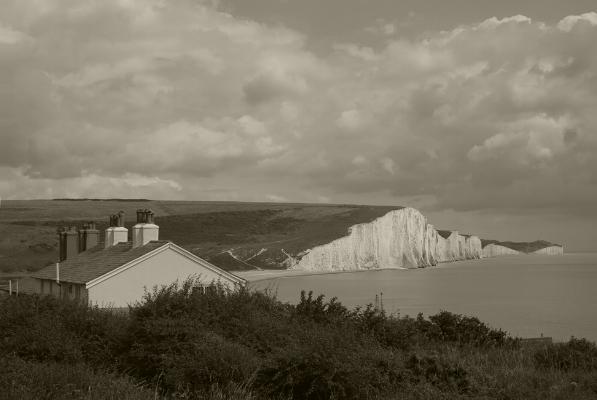 Luís Barreira  Seven Sisters cliffs,  Sussex , 2014  Série:  Landscapes   Fotografia  arquivo:07_28_IMG_7655, 2014
