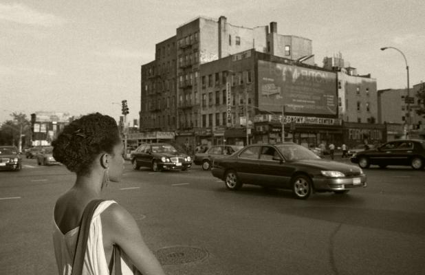 Luís Barreira  New York, 2002  Série:  Street Photography   Fotografia  Gelatin Silver print  arquivo:F_524_20071, 2002