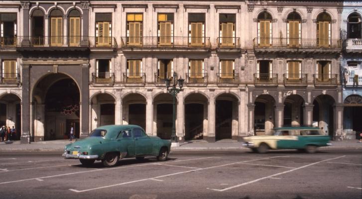 Luís Barreira  Havana, 1997  Série: Cuba'97  Fotografia  Diapositivo digitalizado  arquivo:SLIDE_21678, 1997