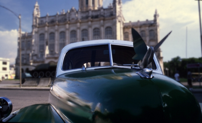 """Luís Barreira  """"Cisne"""", Havana, 1997  Série: Cuba'97  Fotografia  Diapositivo digitalizado  arquivo:SLIDE_21674, 1997"""