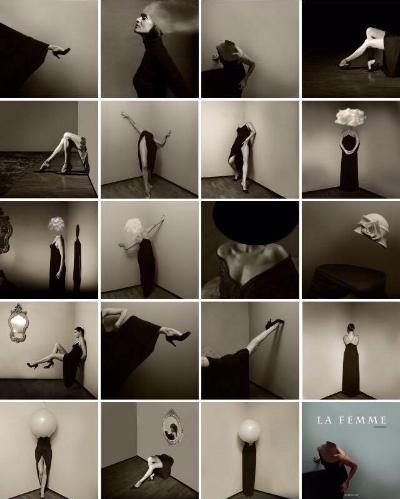 Luís Barreira,  La Femme, 2015/16  modelo: Érica Cunha  série:  La Femme   Book