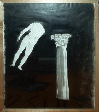 Luís Barreira  Desenho V, 1996  acrílico s/papel (60x80cm)  Pintura/Desenho  col. particular: Teresa Rodrigues  arquivo:11_IM000196_desenho_1996, 2002