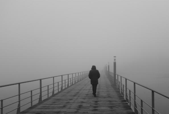 Luís Barreira  manhã de nevoeiro, 2018  Lisboa  Série: no parque  Fotografia  arquivo:01_24_DSCF4870, 2018