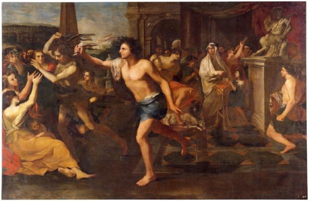 Andrea Camassei,  Lupercália , 1635  Museu do Prado  Pintura