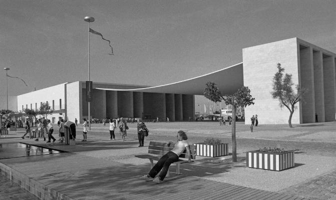Luís Barreira  Expo'98  Lisboa, 1998  série: no parque  Fotografia  arquivo:FOLIO_365_8236, 1998