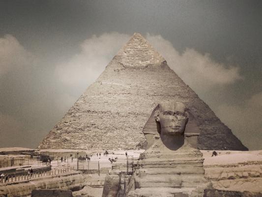 Luís Barreira  Esfinge, 2018  Cairo  série: egipto  Fotografia  IPhone 5  arquivo:2018_07_12_IMG_4051