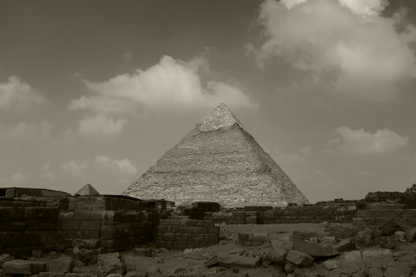Luís Barreira  Pirâmide de Quéfren, 2018  Cairo  série: Egipto  Fotografia  arquivo:2018_07_12_DSCF8348