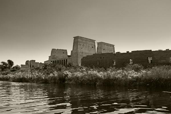 Luís Barreira  Templo de Philae, 2018  série: Egipto  Fotografia  arquivo:2018_07_13_DSCF8547