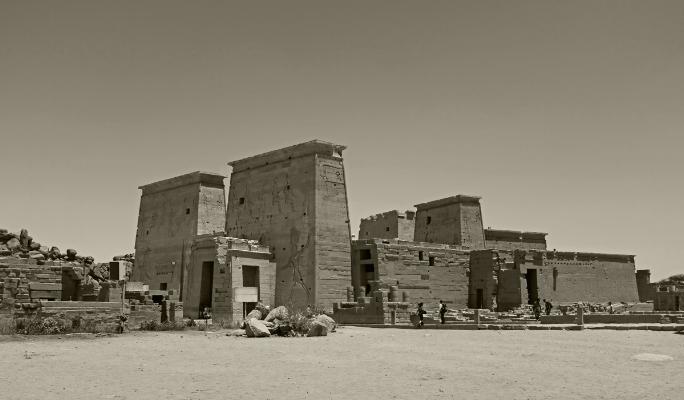 Luís Barreira  Templo de Philae, 2018  série: Egipto  Fotografia  arquivo:2018_07_13_DSCF8621