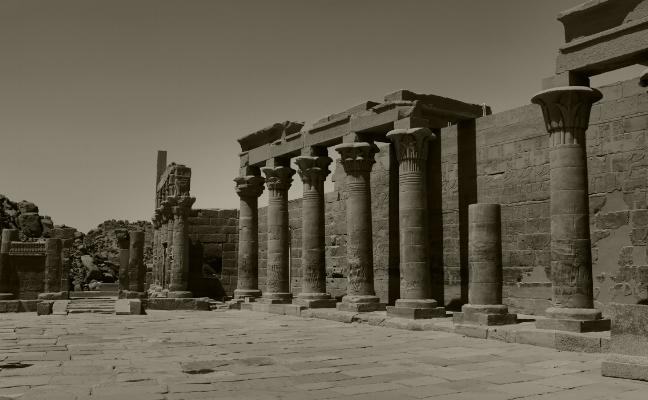 Luís Barreira  Templo de Philae, 2018  série: Egipto  Fotografia  arquivo:2018_07_13_DSCF8555