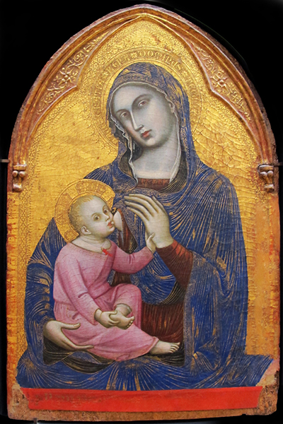 Barnaba da Modena  (Barnabé de Módena)   Madonna col bambino , c.1370-75