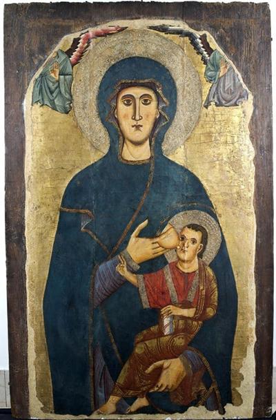 Madonna della Catena  di San Silvestro al Quirinale  Século XIII